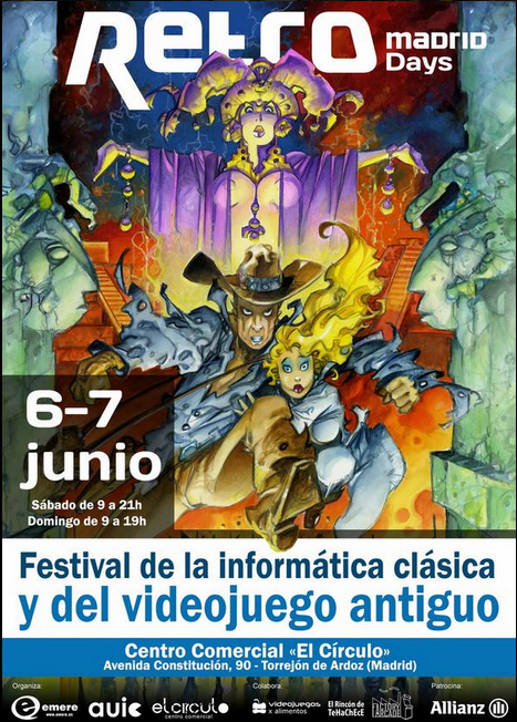 cartel RetroMadrid Daus 2015