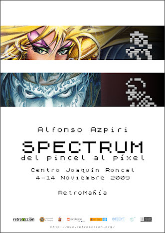 Cartel Spectrum de Azpiri